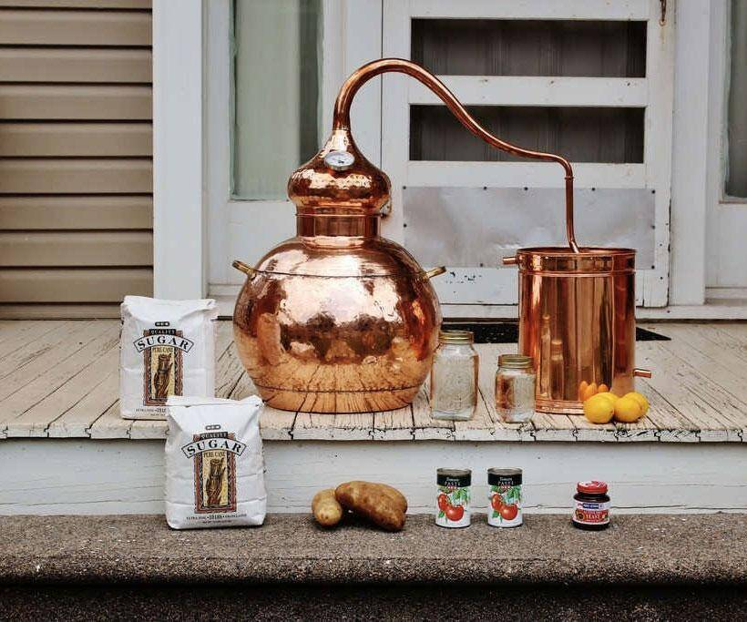 10 Gallon Moonshine Still - http://coolthings.us