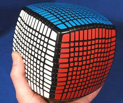 13 x 13 x 13 Rubik's Cube - http://coolthings.us