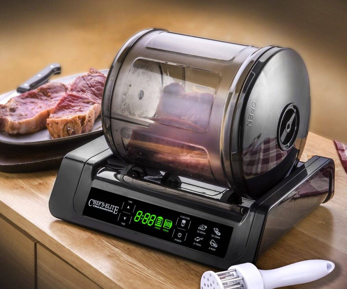 Meat & Vegetable Vacuum Marinator - http://coolthings.us