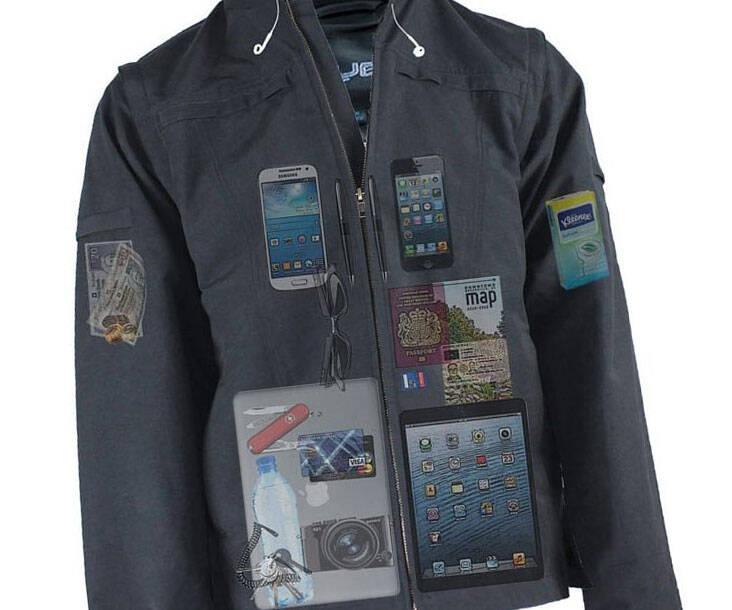 Concealed Pockets Jacket - http://coolthings.us