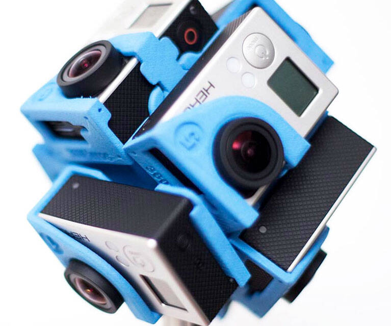 360 Degree GoPro Camera Holder