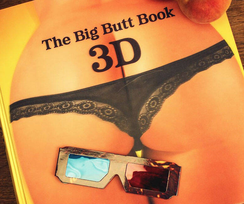 3D Book Of Big Butts - http://coolthings.us