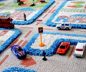3D Play Rug - http://coolthings.us