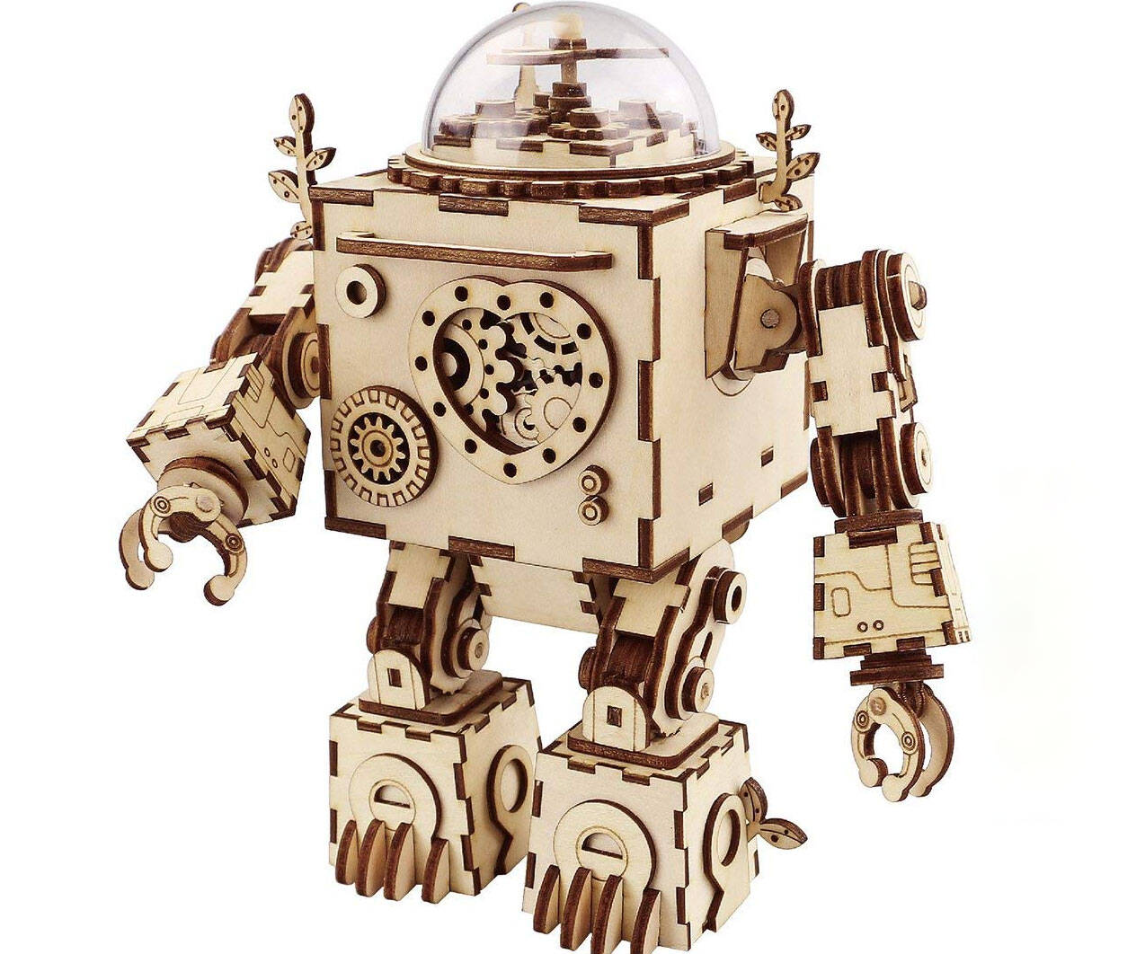 3D Robot Puzzle Music Box - http://coolthings.us