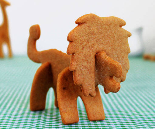 3D Safari Cookie Cutters - http://coolthings.us
