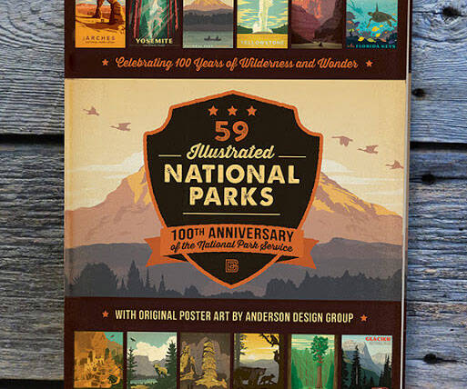 Illustrated National Parks Book - http://coolthings.us