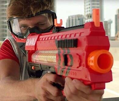 70 MPH NERF Gun - http://coolthings.us