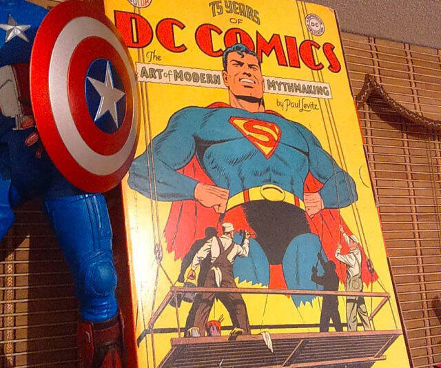 75 Years Of DC Comics Book - http://coolthings.us