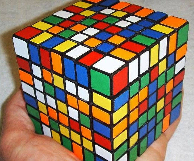 7x7x7 Rubik's Cube - http://coolthings.us