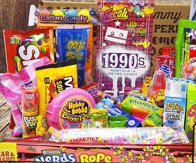 90s Retro Candy - http://coolthings.us