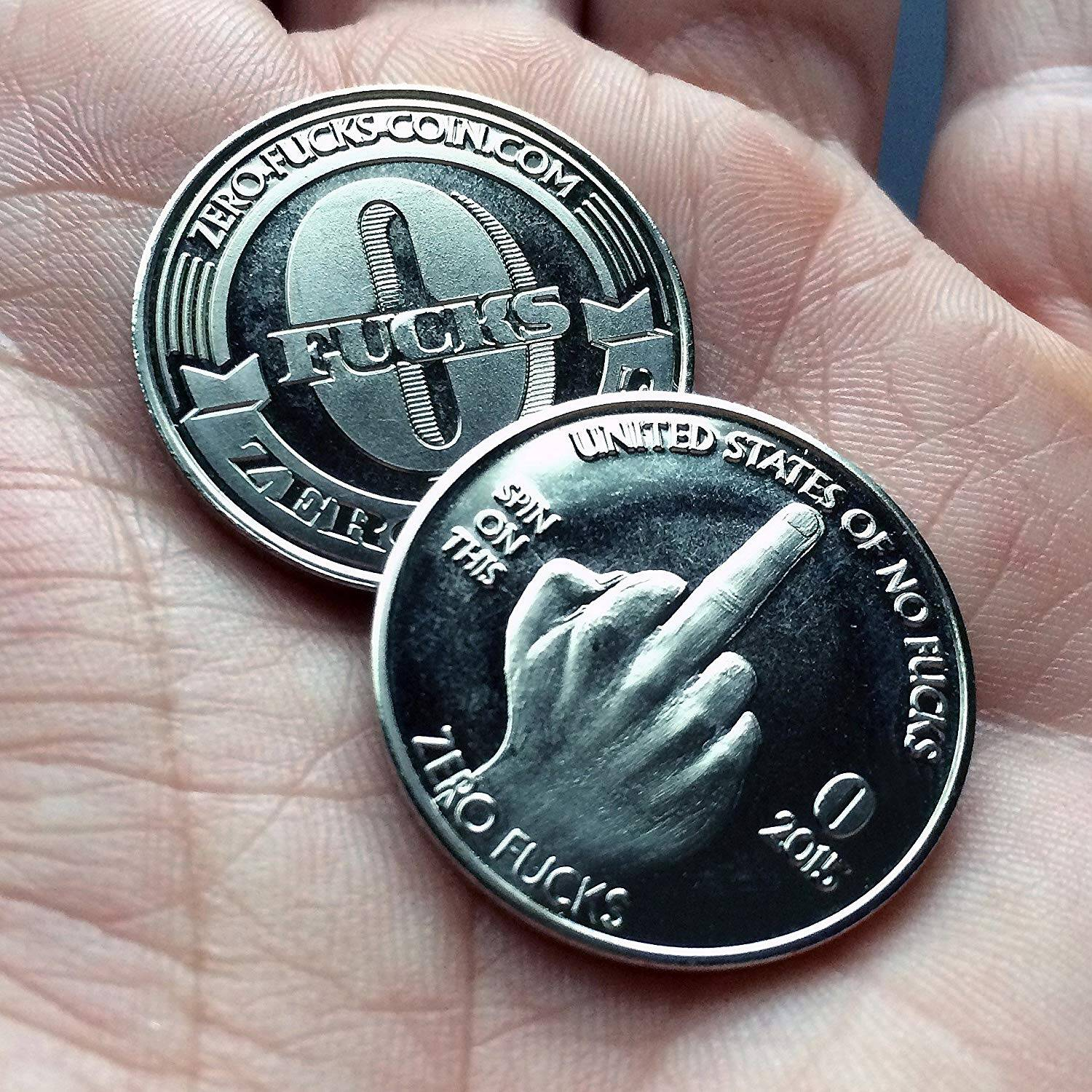 Zero Fucks Given Coins - http://coolthings.us