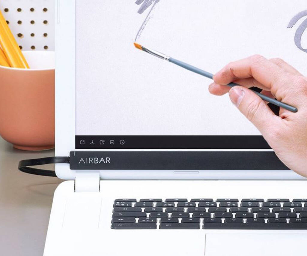 The AirBar: Get Touch on Any PC - http://coolthings.us