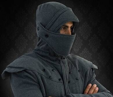 Armored Knight Hoodie - http://coolthings.us