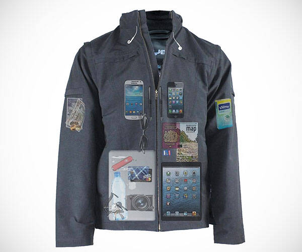 AyeGear J25 Jacket Vest with 25 Pockets - http://coolthings.us