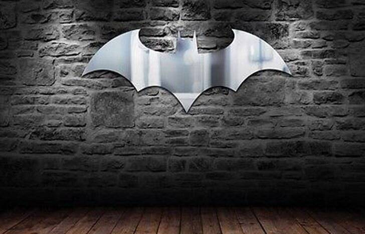 Batman Logo Mirror - http://coolthings.us