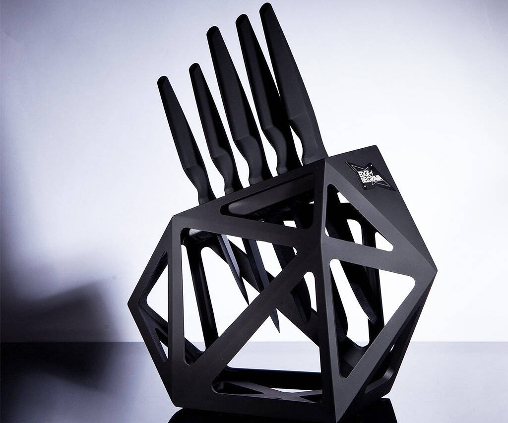 Black Diamond Knife Block - coolthings.us