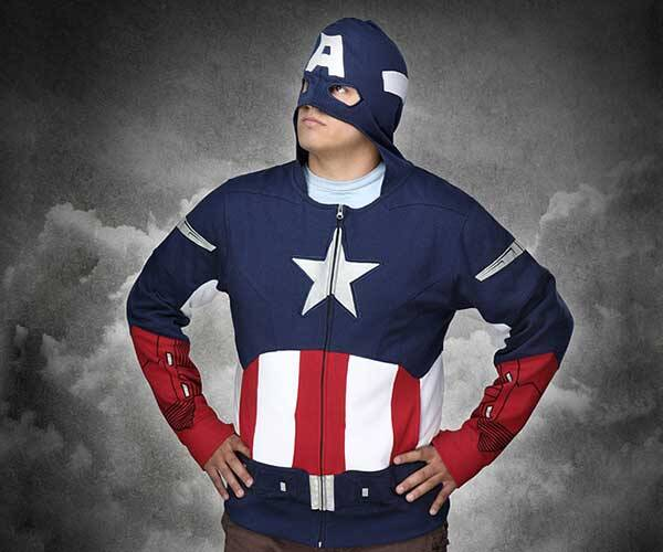 Captain America Avengers Hoodie - http://coolthings.us