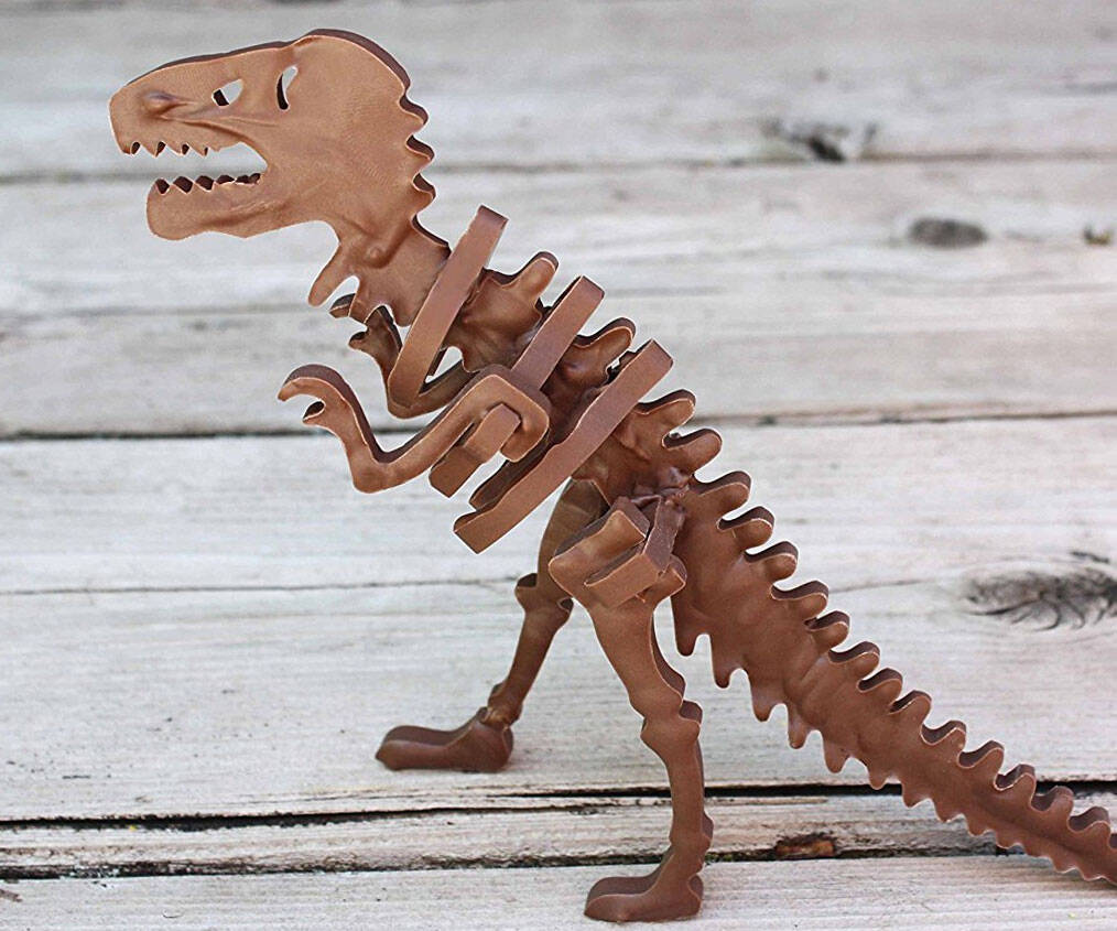3D Chocolate Candy T-Rex Mold