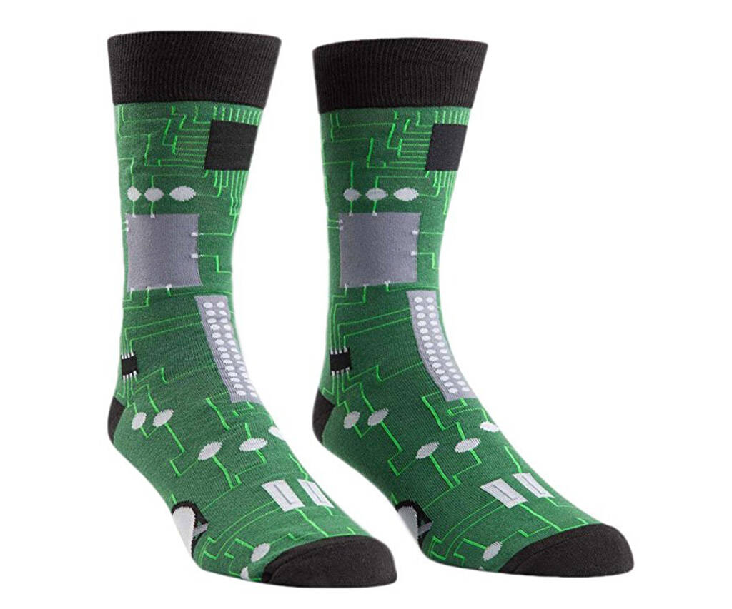 Circuit Board Socks - http://coolthings.us