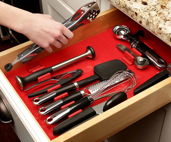 Customizable Drawer Organizer - http://coolthings.us