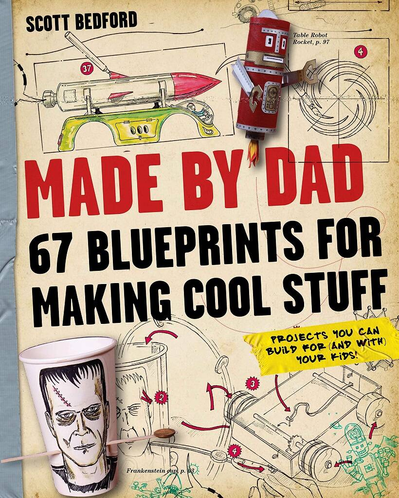 Blueprints For Making Cool Stuff Book - http://coolthings.us