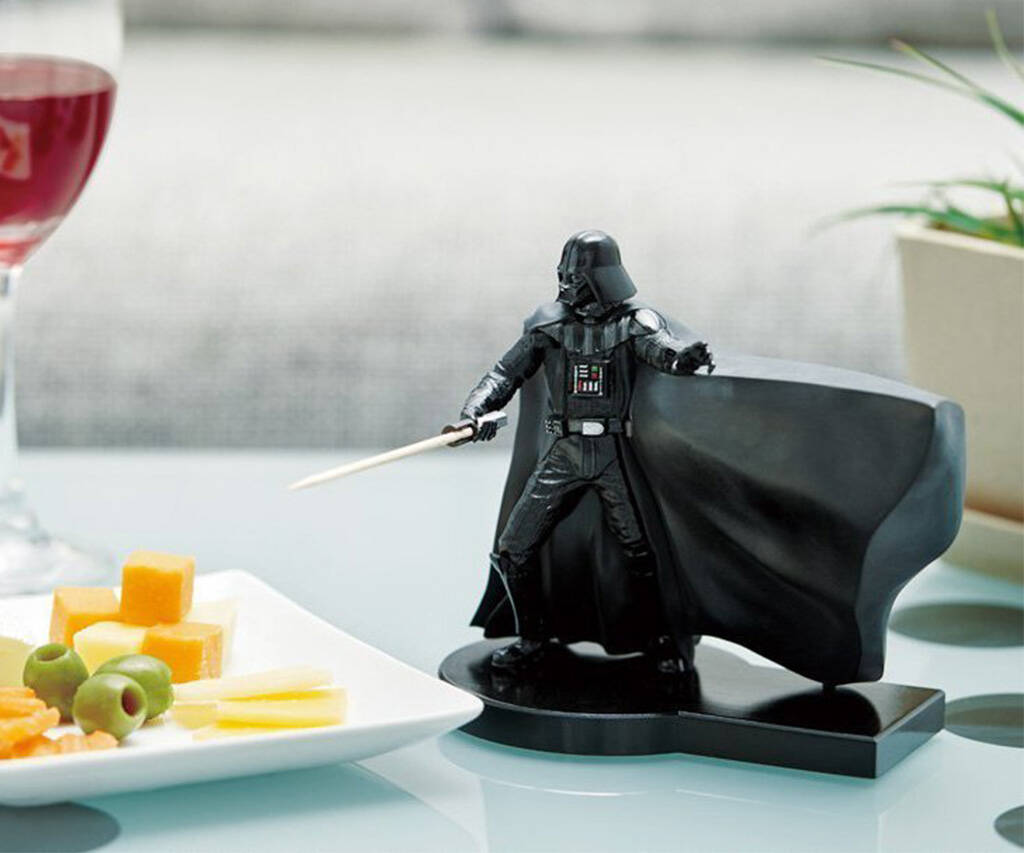 Darth Vader ToothSaber Toothpick Dispenser - http://coolthings.us