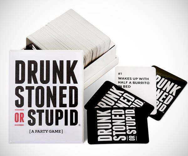Drunk, Stoned, Or Stupid Card Game - http://coolthings.us