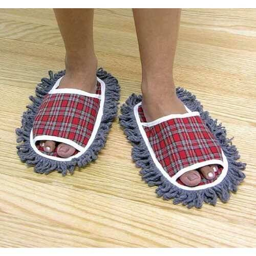 Dust Mopping Slippers - http://coolthings.us