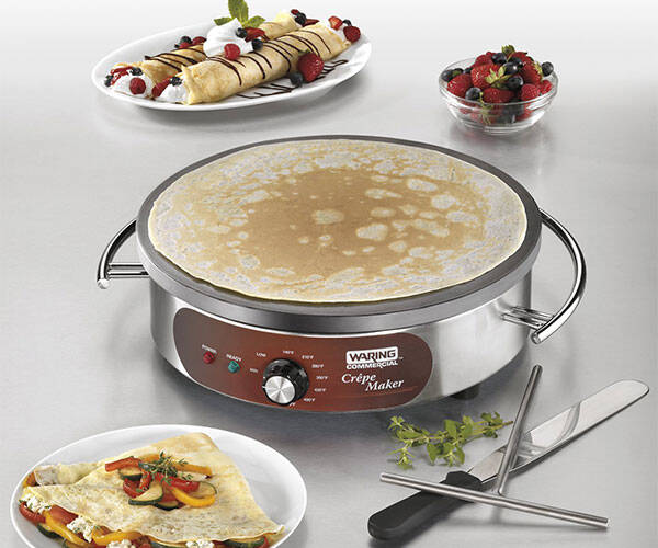 Electric Crepe Maker - http://coolthings.us