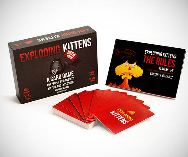 Exploding Kittens Card Game - NSFW Edition - http://coolthings.us