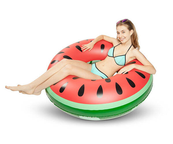 Giant Watermelon Pool Float - http://coolthings.us