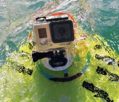 Go Pro Surfboard Mount - http://coolthings.us