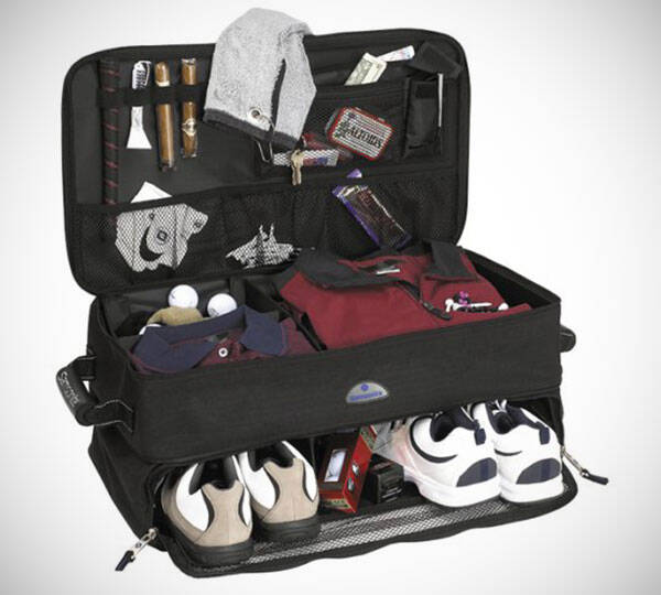 Golf Trunk Organizer - http://coolthings.us