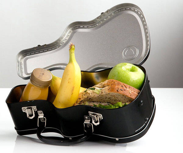 Guitar Case Lunch Box - http://coolthings.us