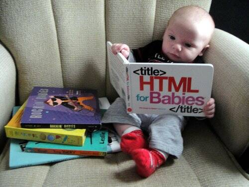 HTML Book for Babies - http://coolthings.us