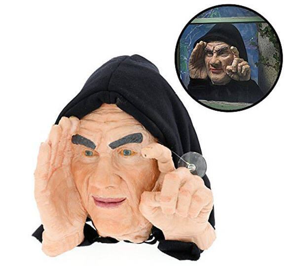 Halloween Scary Peeper Window Prop - http://coolthings.us