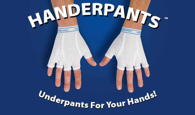 Underwear Gloves - http://coolthings.us