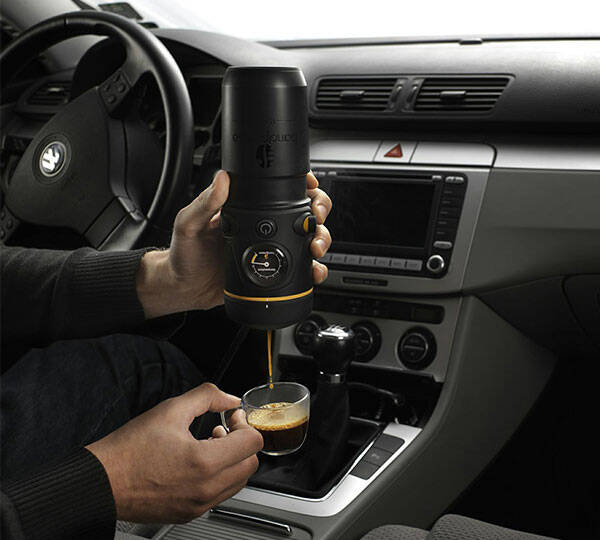 Automobile Espresso Machine - http://coolthings.us
