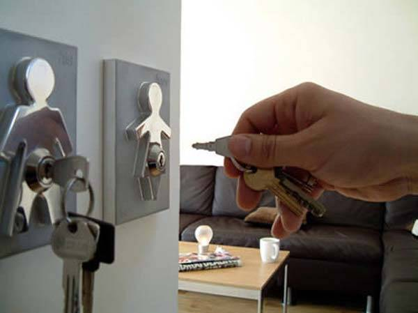 Human Key Holders - http://coolthings.us