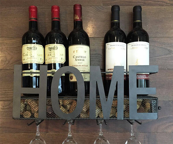 Home Wine Rack - http://coolthings.us