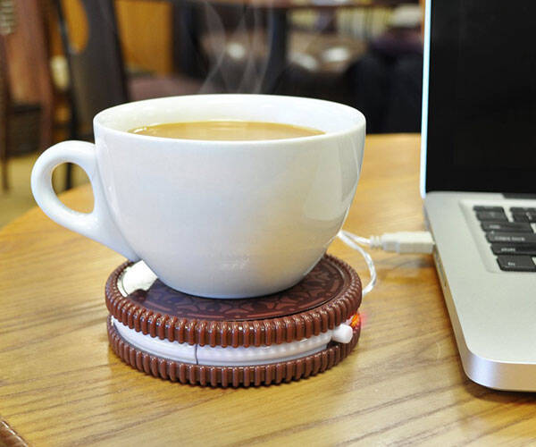 Hot Cookie USB Cup Warmer - http://coolthings.us