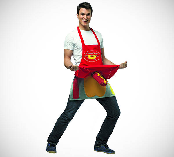 Hot Dog Vendor Apron - http://coolthings.us