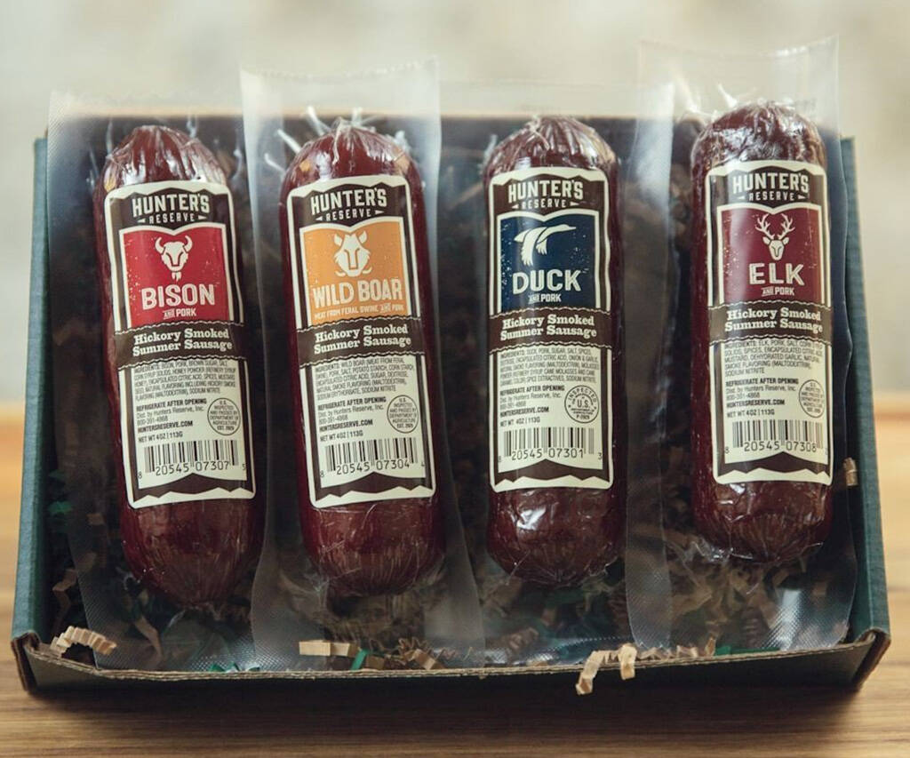 Hunters Delight Summer Sausage Gift Box - http://coolthings.us