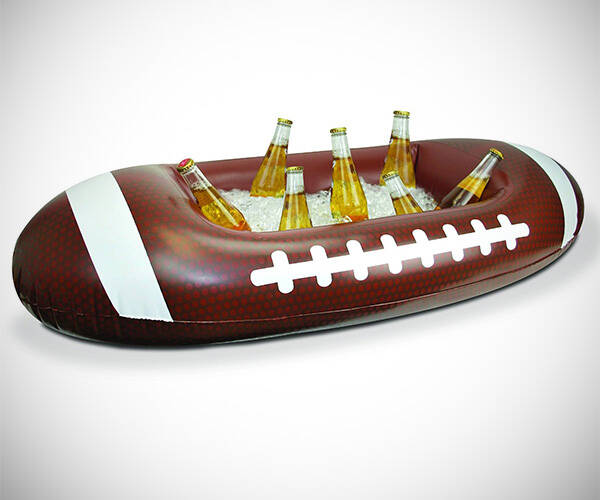Inflatable Football Cooler - http://coolthings.us