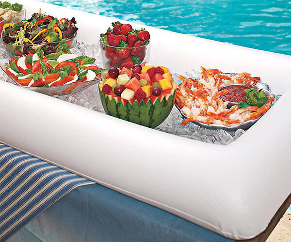 Inflatable Serving Bar - http://coolthings.us