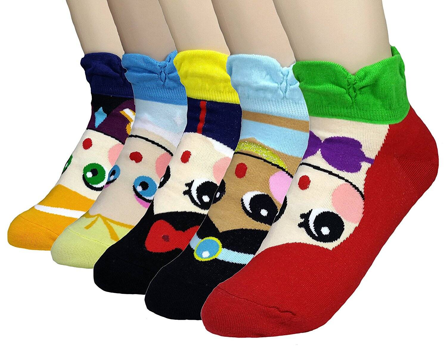 JJMax Princess Series Character Socks - http://coolthings.us