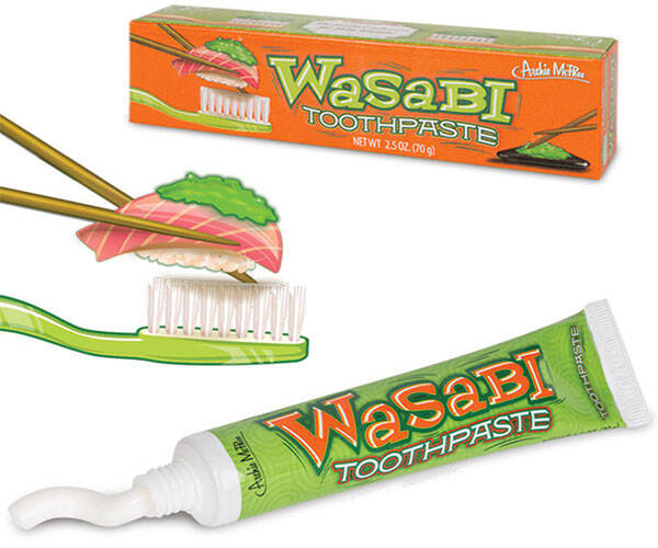 Japanese Wasabi Toothpaste - http://coolthings.us