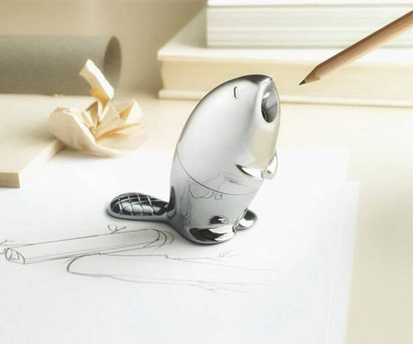 Beaver Pencil Sharpener - http://coolthings.us