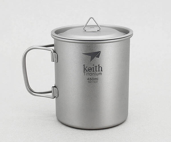 Keith Camping Titanium Mug - http://coolthings.us