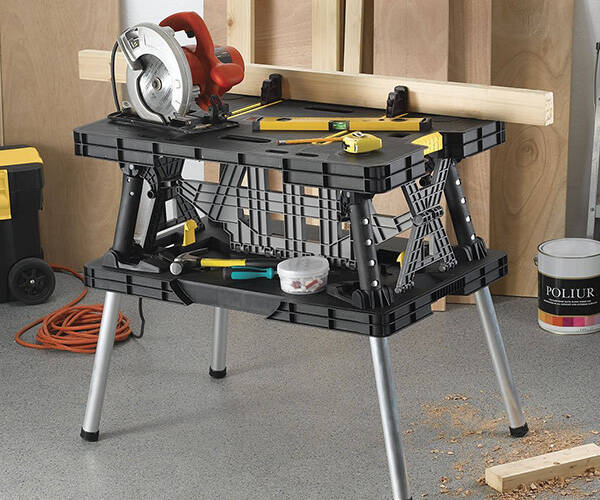 Keter Adjustable Folding Work Station - http://coolthings.us
